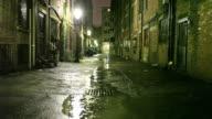 Urban Alleyway video
