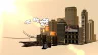 Urban animation video