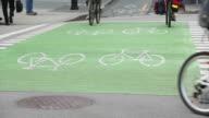 Urban Bicycle Crossing video