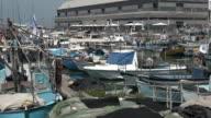 Urban cityscape of the old port of Jaffa in Tel Aviv Jaffa, Israel video