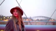 Urban fashion walk video