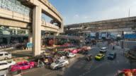 Urban landscape in Bangkok Thailand video