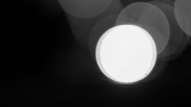 urban night movement bokeh video