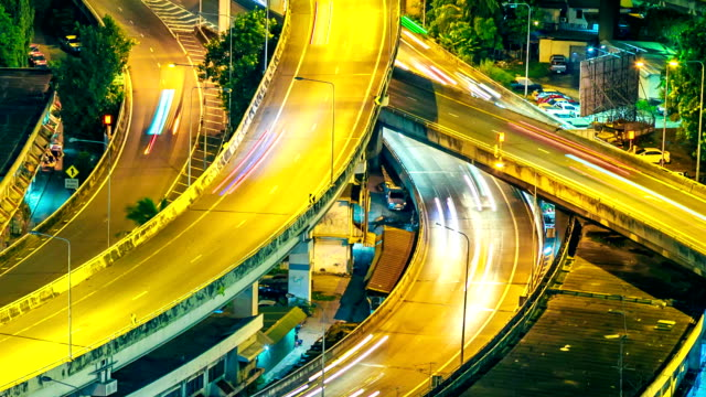 Urban Road Highway Closeup video