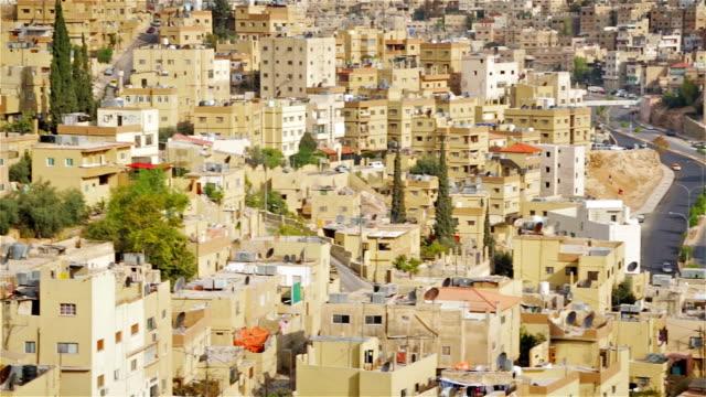 Urban scene of Amman - Jordan video