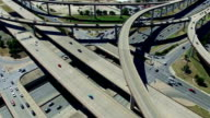Urban Sprawl Highways Intersections Overpass and Major Transportation Crossroads Austin Texas Mega Roads video