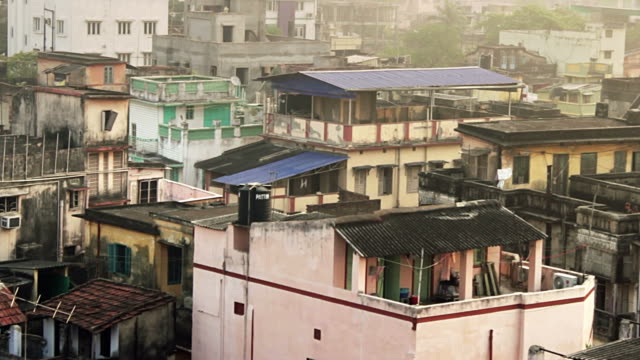 Urban sprawl in the heart of Calcutta, India. video