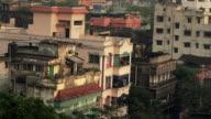 Urban sprawl in the heart of Calcutta, India. video