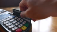 Using a credit card with Credit card reader video
