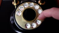 Using a Rotary Phone Dial - 2 Different Angles video
