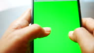Using a Smart Phone with a Green Screen video