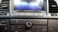Using car audio stereo system video