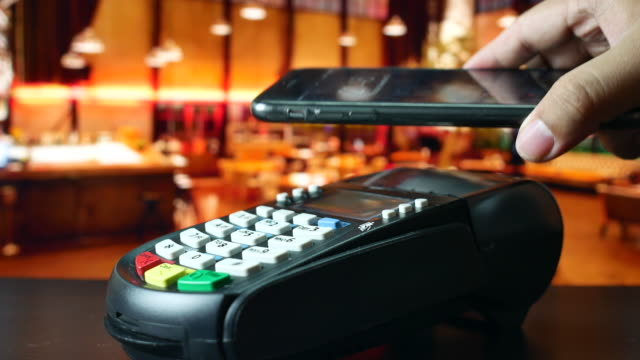 using contactless payment with phone, NFC Payment video
