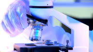 Using Microscope Hospital Research Laboratory video