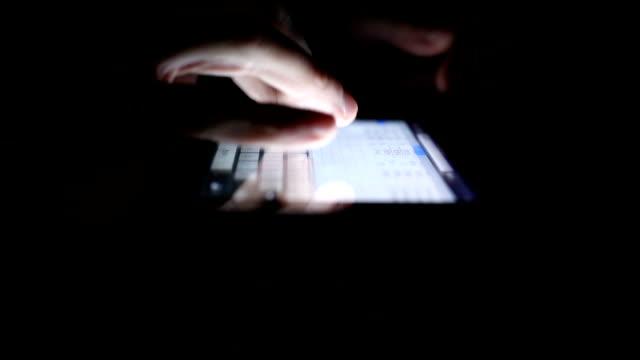 Using Tablet in the Dark video