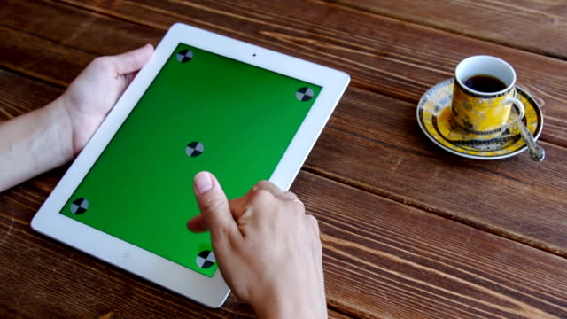 Using tablet pc touchscreen video