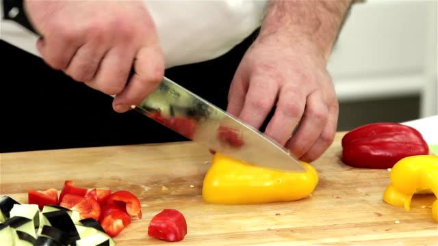 Сutting Bell Pepper video