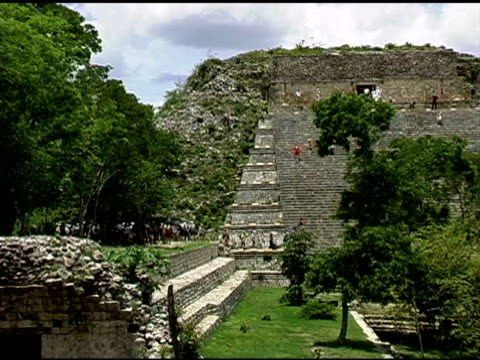 Uxmal Mayan Ruins Site in Yucatan Mexico 4 video