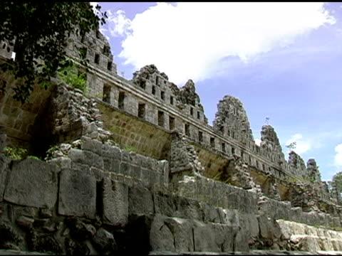 Uxmal Mayan Ruins Site in Yucatan Mexico video
