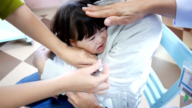 Vaccinated infants video