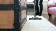 Vacuum Cleaner in Home video