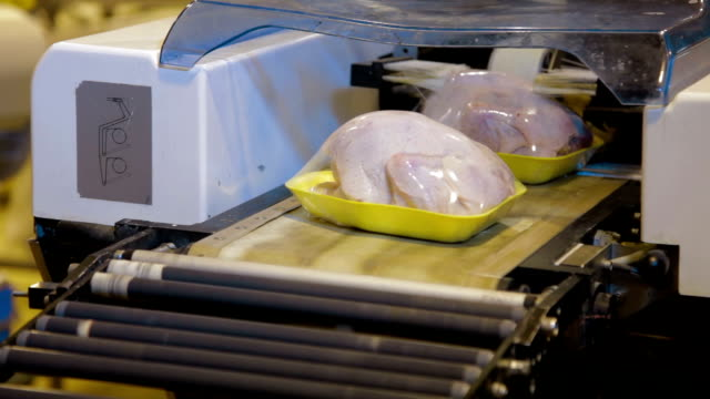 Vacuum Packaging of Processed Meat video
