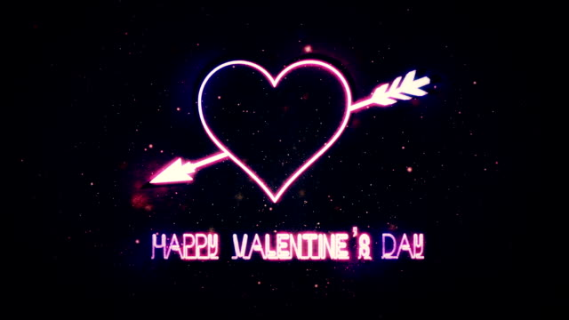 Valentine's Day Background, Heart Background video