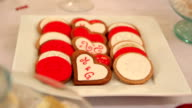 Valentines Day cookies video