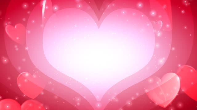 Valentine's Day Hearts of Love video