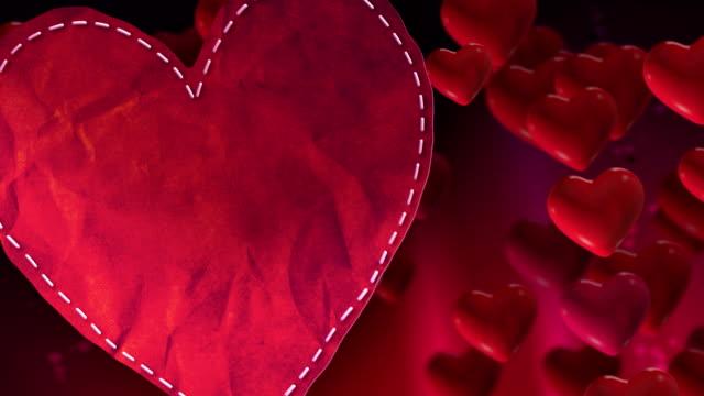 Valentines Heart Loop video