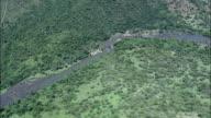 Valley Of A 1000 Hills Around Nagle Dam  - Aerial View - KwaZulu-Natal,  uMgungundlovu District Municipality,  uMshwathi,  South Africa video
