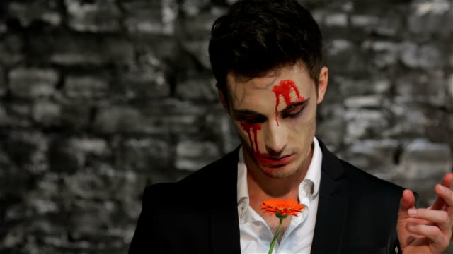 Vampire tells fortunes tearing petals video