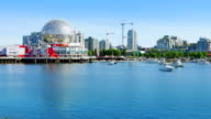Vancouver BC False Creek Harbour Marina, Modern Architecture, Canada video