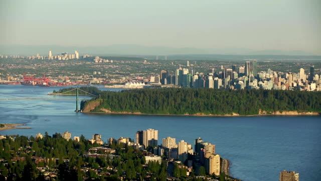 Vancouver British Columbia Cityscape video
