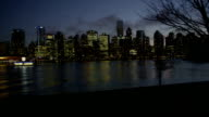 Vancouver Night Skyline 03 video