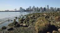 Vancouver Skyline, Stanley Park Shore video