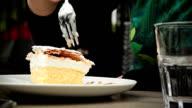 HD: Vanilla And Custard Cream Cake Dessert video
