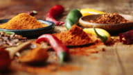 Variation of Spices and Herbs video