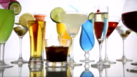 Variety of Alcoholic Beverages video
