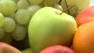 HD: Various fruit video