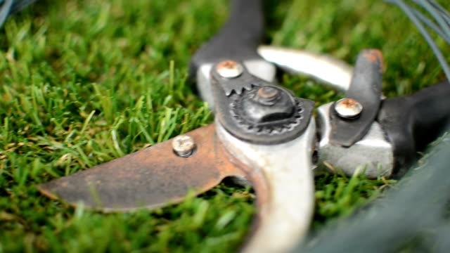 Various Garden Tools video