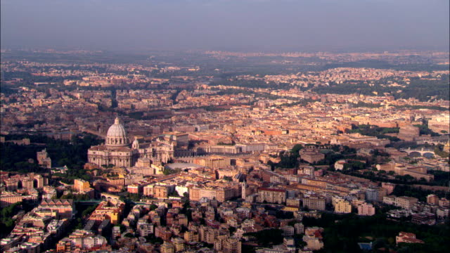 Vatican City And St Peter's  - Aerial View -, Vatican City video