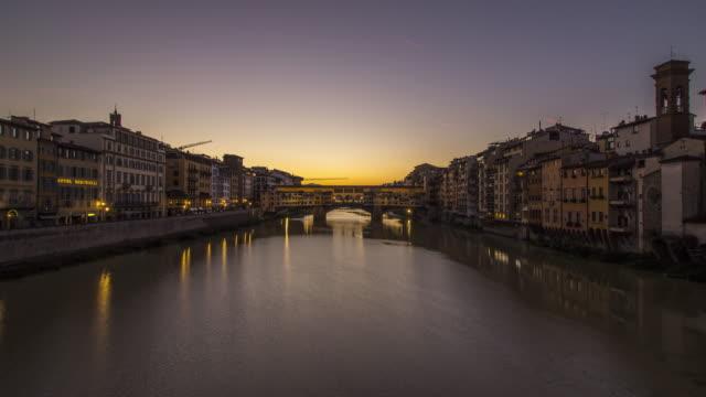 Vecchio ponte bridge in Florence video