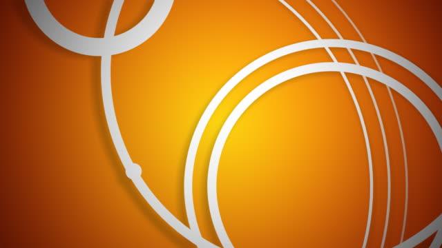Vector Ripples White on Orange video