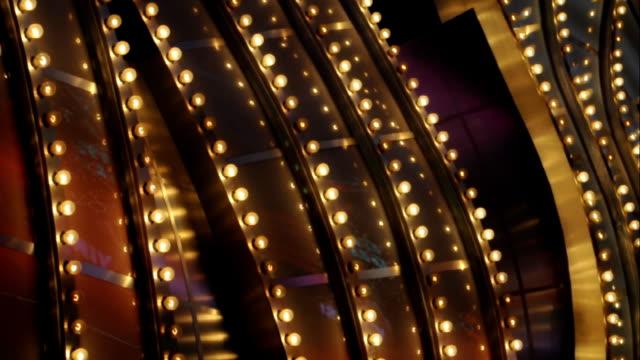 Vegas curved marquee - 2 exposures video