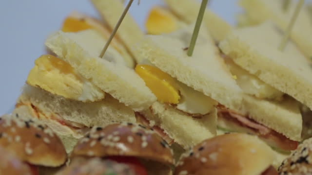 Vegetable Canapes with Egg video