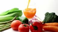 Vegetable juice video