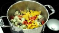 Vegetable stew video