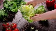 Vegetable still life. video