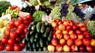 Vegetables and fruits video